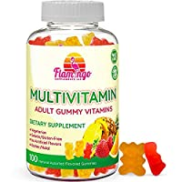 Multivitamin Gummies | Vegan Friendly, Kosher Halal NO Gluten or Gelatin, no GMO...