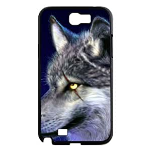 case Of Wolf Customized Bumper Plastic Hard Case For Samsung Galaxy Note 2 N7100
