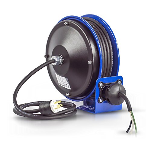 Series Power Cord Reel - Coxreels PC10-3012-X Compact efficient heavy duty power cord reel with no accessory