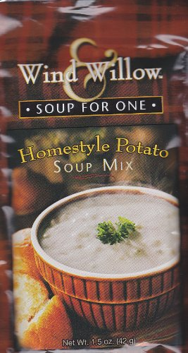 Wind & Willow Homestyle Potato Soup, 1.5-Ounce Pouches (Pack of 4)