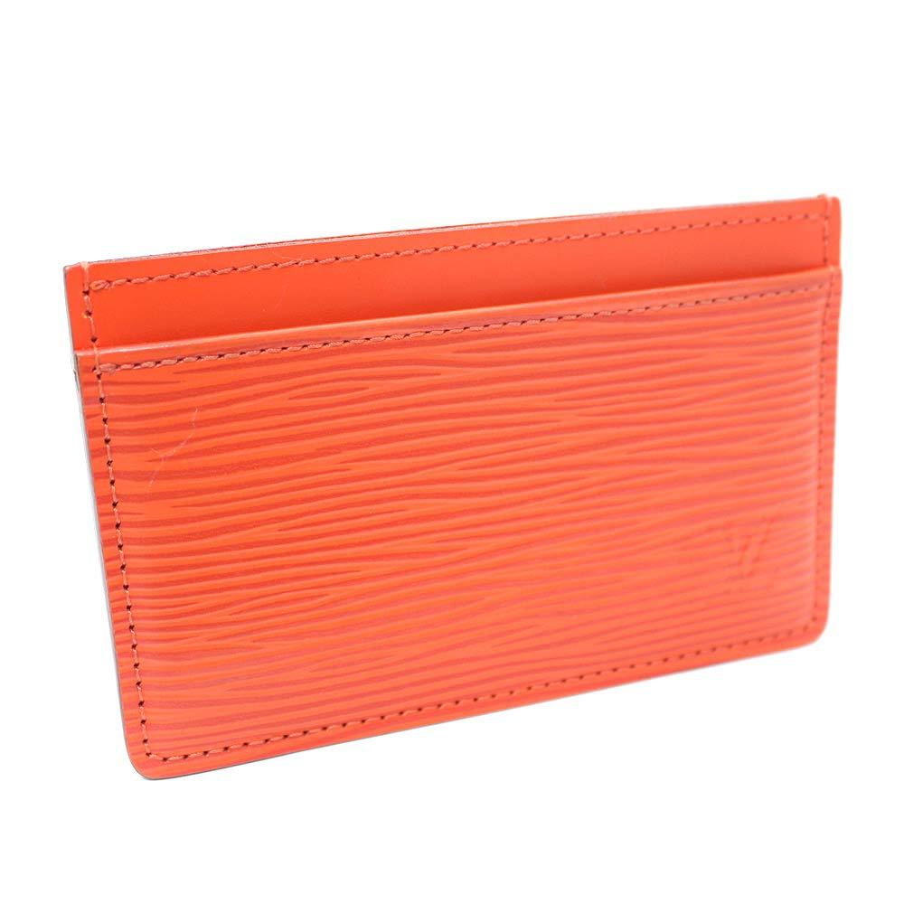 ルイ ヴィトン LOUIS VUITTON ポルト カルト サンプール エピ M60721 カードケース オレンジ レディース エピレザー [中古]   B07PMP9JQ8