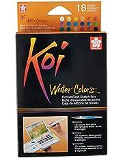 Sakura Koi aquarela campo 36 cores conjunto de esboços