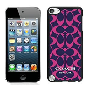 Fashion And Unique iPod Touch 5 Case Designed With Coach 79 Black iPod Touch 5 Cover
