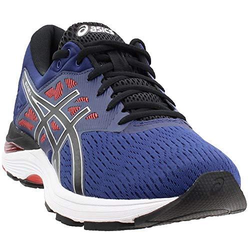 ASICS Mens Gel-Flux 5 Running Shoe, Deep Ocean/Black, Size 14 (Asics Gel Energy)