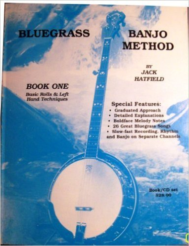 - Bluegrass Banjo Method Book One Basic Rolls and Left Hand Techniques includes Audio CD