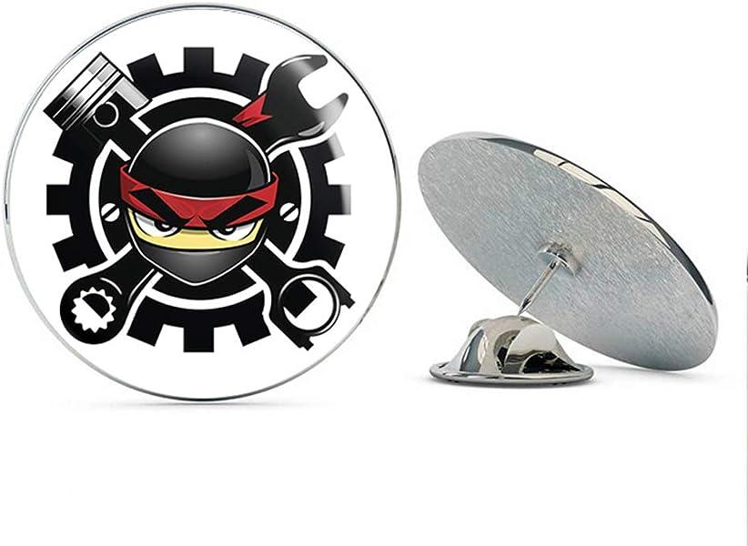 Amazon.com: BRK Studio Simple Ninja Mechanic Cartoon Emoji ...