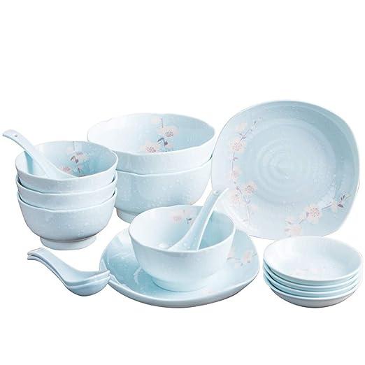Vajilla underglaze color 16 vajilla conjunto plato plato ...