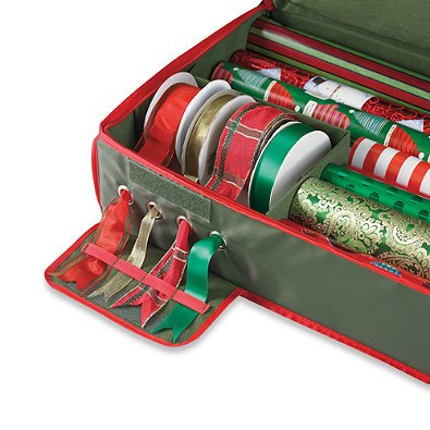 Real Simple Holiday Gift Wrap Under Bed Wrapping Paper Storage