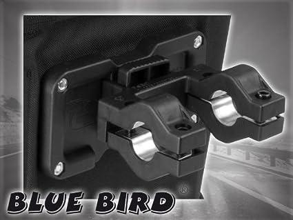 DeLux Blue Bird//63358 Panier Avant pour v/élo Syst/ème Quick Clip Capacit/é 20 l