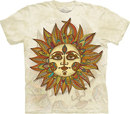 The Mountain Helios T-Shirt, 3X-Large, Cream