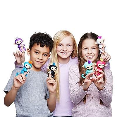 Omaky Fingerlings Interactive Baby Monkeys Smart Colorful Fingerlings Smart Induction Toys by Fingerlings