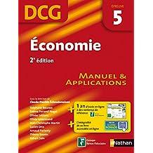 Economie - épreuve 5 - DCG manuel (French Edition)