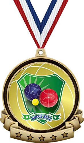 Bocce Ball Medals - 2.5