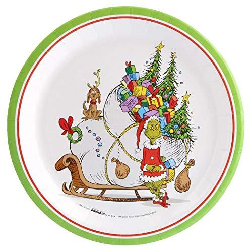 Dr. Seuss Grinch Dinner Plate (24)