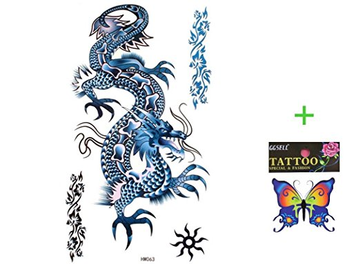 King Horse temporary tattoos waterproof product image