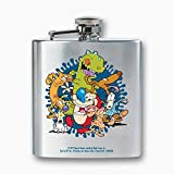 ICUP Nickelodeon - Nick 90s Animated Legends Dance 8oz. Stainless Steel Flask