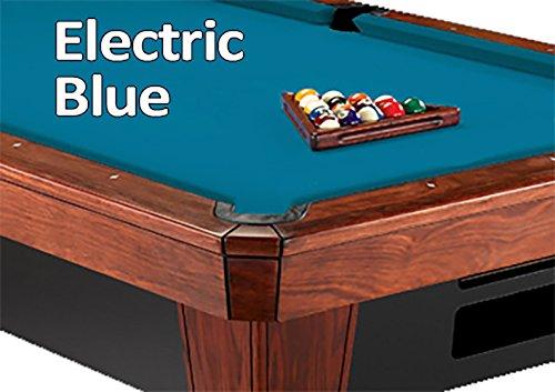 - Simonis Electric Blue Billiard Cloth- 8 Foot Cut