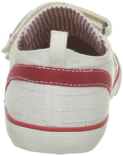 Levi's Vitou Toile 300130-21 - Zapatillas de deporte de lona para niño Blanco (Weiß (Weiß))
