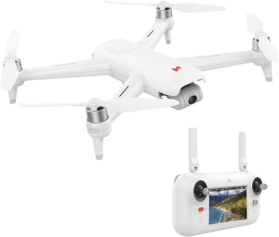 Goolsky FIMI A3 GPS Drone con Cámara 3-Axis Gimbal 1080P 5.8G FPV Fotografía Aérea de Transmisión en Tiempo Real
