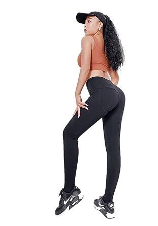 5e1d4488c6e80 SIMPLE-K Fitness Pants Female Elastic Tight Tummy Hip Pants Sexy Hips Quick- Drying Running Training Yoga Pants: Amazon.co.uk: Clothing