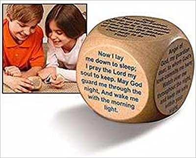 Wooden Prayer Cube Bedtime Prayers for Children and Families by Faithworks