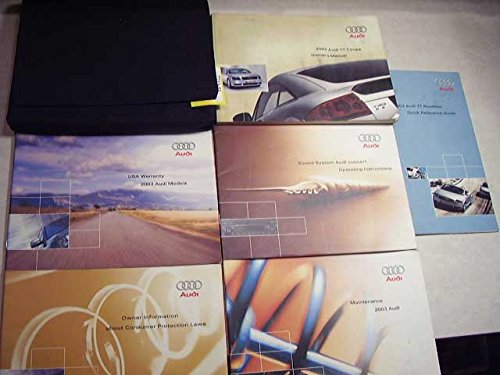 2003 Audi TT Coupe Owners Manual (Manual Tt Coupes)