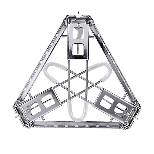 Sportneer outdoor cooking tripod stand stainless steel