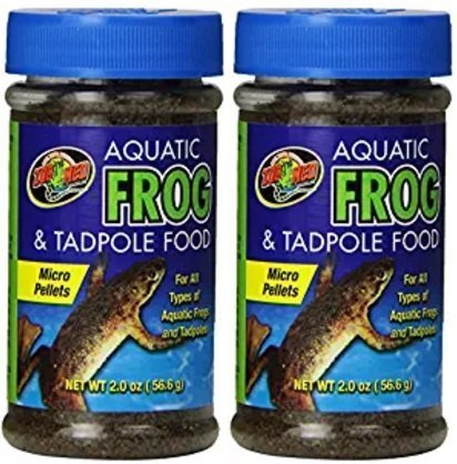 - Zoo Med Aquatic Frog & Tadpole Food (2 Pack)