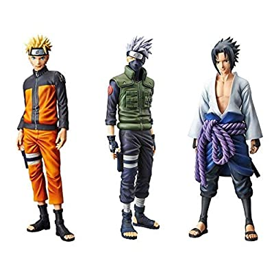 Banpresto Set of 3 Grandista Shinobi Relations Figure - Uzumaki Naruto, Hatake Kakashi & Uchiha Sasuke - 4006753 , B07HBTDPMV , 454_B07HBTDPMV , 131.9 , Banpresto-Set-of-3-Grandista-Shinobi-Relations-Figure-Uzumaki-Naruto-Hatake-Kakashi-Uchiha-Sasuke-454_B07HBTDPMV , usexpress.vn , Banpresto Set of 3 Grandista Shinobi Relations Figure - Uzumaki Naruto,
