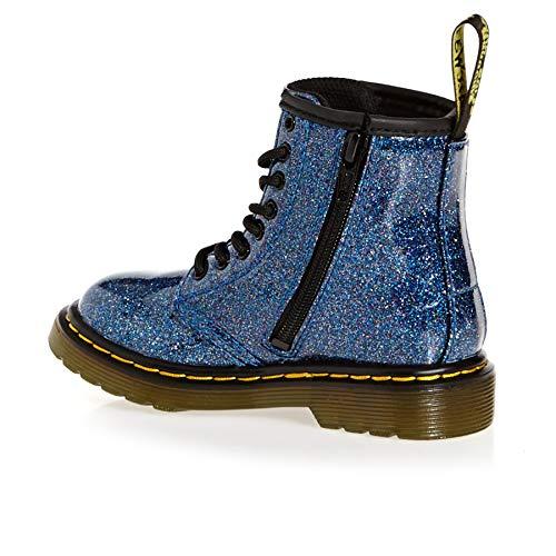 Glitter Stivaletti Blu Dr Martens 400 1460 Bambina T blue axwCHqz1