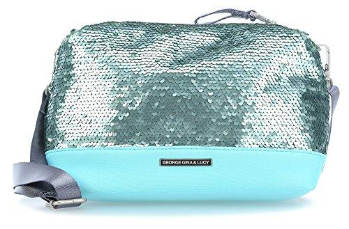 George Gina & Lucy Hazy Funtazy Party Box Bolsas de hombro azul claro