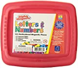 Educational Insights Multicolored Alphamagnets and Mathmagnets, 126 Pieces