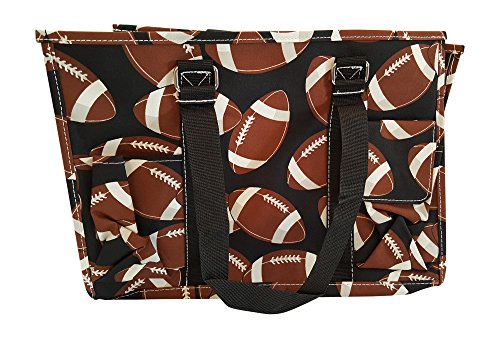 N Gil All Purpose Organizer Medium Utility Tote Bag 1 - Football ()