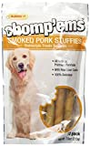 Ruffin It All Natural Smoked Pork Stuffies Dog Treats with Real Liver, (12 Pork Stuffies in Total)