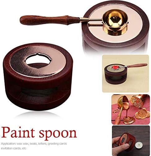Wax Melting Tool Sealing Wax Tool Tripod Wax Stove Wax Seal Stamp Accessories Metal Sealing Wax Stove Wax Stove for Sealing Wax Stamp