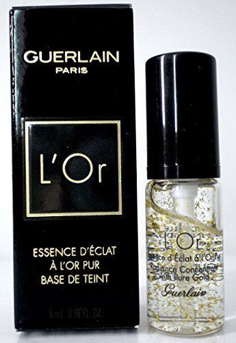 (Guerlain L'Or Radiance Concentrate With Pure 24kt Gold Make-up Base - .16oz Mini)