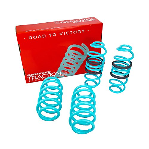 LS-TS-AI-0005 Traction-S Performance Lowering Springs for Audi A4/A4 Quattro/S4 (B8) 2009-2016