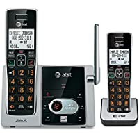 ATT CL82213 DECT 6.0 Expandable Cordless Phone System with Digital Answering Machine