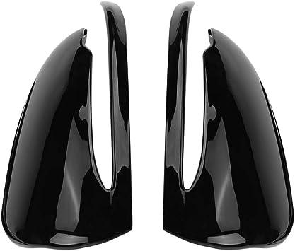 Rückspiegelkappe Spiegelkappe Verkleidung Auto Rückspiegelkappen Verkleidung Für C Klasse W205 E Klasse W213 Glc Klasse X253 S Klasse Piano Black Auto