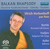 Balkan Rhapsody / Classical Folk Song Suites Arranged for Panflute and Orchestra
