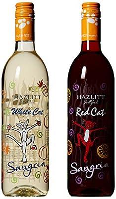 NV Hazlitt 1852 Vineyards Sangria Deal, Mixed Pack of 2 750ml Bottles of Wine from Hazlitt's Red Cat Cellars