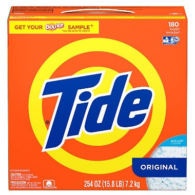 (Product of Tide HE Ultra Powder Laundry Detergent (254 oz, 180 loads) - Laundry Detergents [Bulk Savings])
