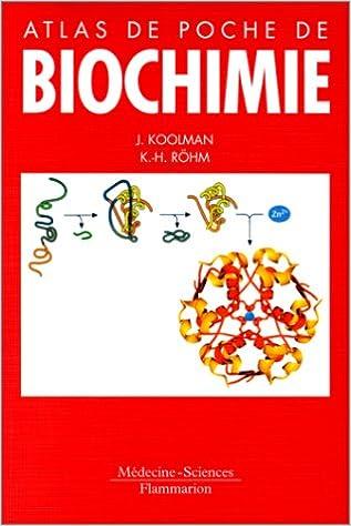 Lire Atlas de poche de biochimie pdf ebook