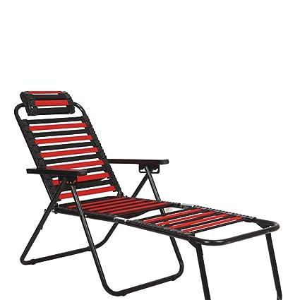 Cojines Silla Con Relax Plegable Playa Tumbona Para CxorWBed
