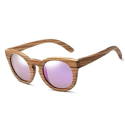 Easy Go Shopping Gafas de Sol clásicas de Madera polarizadas ...