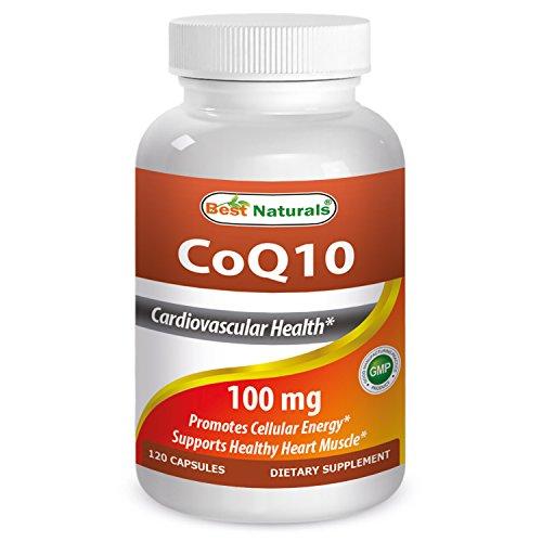 Best Naturals COQ10 100 mg 120 Capsules