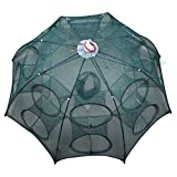 Foldable Fishing Net Landing Net Trap Cast Dip Cage for Fish Shrimp Minnow Crayfish Crab Size 37.40inch