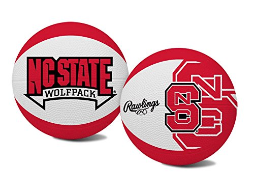 (Jarden Sports Kids' North Carolina State Wolfpack Alley-Oop Basketball)