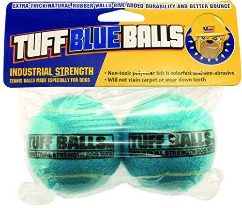 (PetSport 2-Pack Tuff Blue Ball)