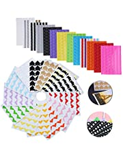 1438Pcs Photo Corners Stickers, Self Adhesive Photo Mounting Sticker Paper - Picture Frame Corners for DIY Scrapbook, Picture Album and more (26 Sheet Multi-Colors)